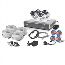 Swann SWDVK-845504-UK 8-Channel Security System & 4 Cameras